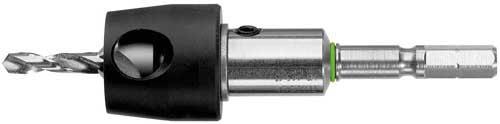 Foret avec butée de perçage et chanfreinage BSTA HS D CE Ø4,5mm