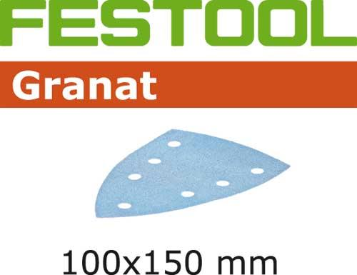 Abrasifs pour ponceuse Delta 100x150mm G180 boite 10