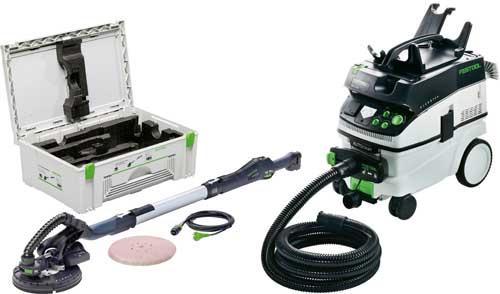 Ponceuse à bras PLANEX LHS 225 IP Ø215mm 550W + aspirateur