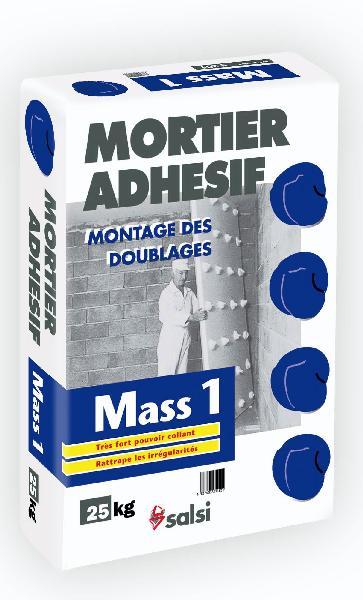 Mortier adhésif MASS1 S201 sac 25kg