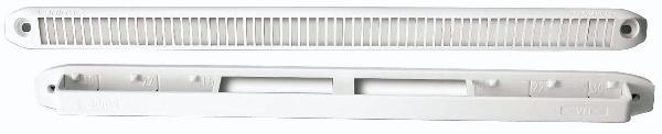 Entrée d'air standard autoréglable 15-22-30m3/h blanc