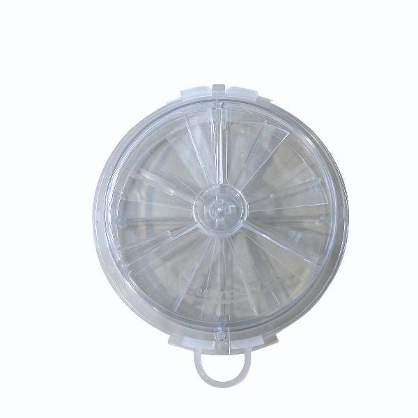 Aérateur réglable volets extra-plat Ø156mm