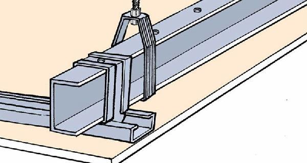 Rail métal 2 PLUS ACIER 6,00m