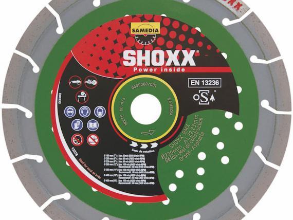 Disque diamant Ø300mm SHOXX BMX