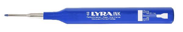 Marqueur à pointe LYRA bleu