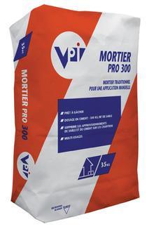 Mortier multi usages MORTIER PRO 300 sac 35kg