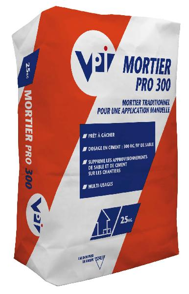 Mortier multi usages MORTIER PRO 300 sac 25kg