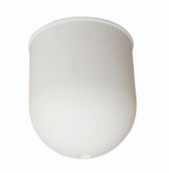 Pavillon plastique cylindrique Ø70mm blanc