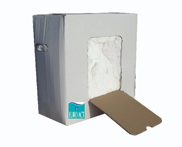 Chiffons blancs carton 10kg