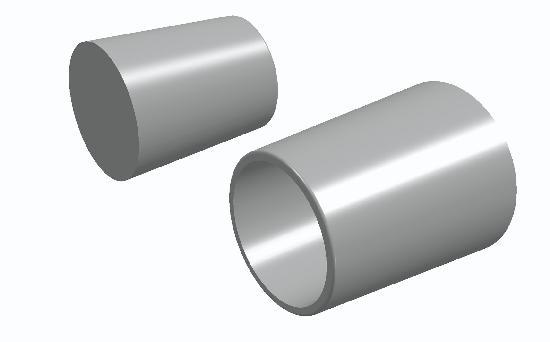 Bouchon PVC pour entretoise standard Ø26 sachet 1000