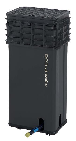 REGARD E-CUB FLEX F Ø25 PE MONTE H.800 HYDRO 43Z TAMPON FONTE B125