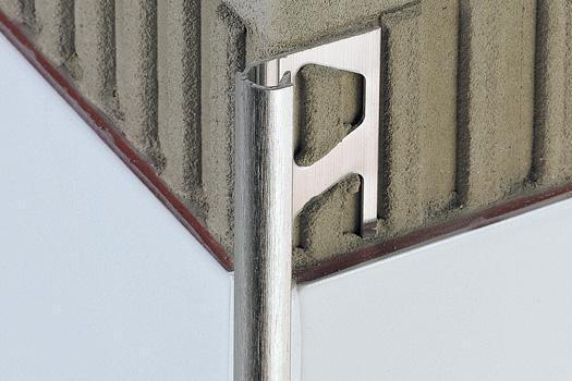 Profilé RONDEC RO125ACGB alu chromé anodisé brillant 2,5m