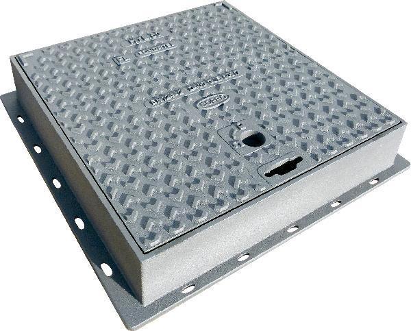 Regard fonte carré HYL 50 hydraulique D400 565mm x565mm -400mm x400mm