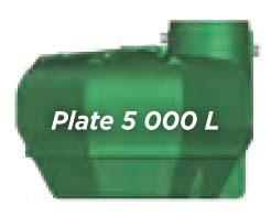 CUVE ECOBASE SLIM 5000L PLATE BASIQUE