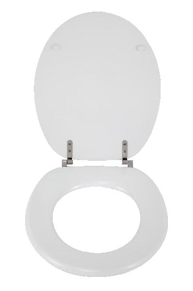 Abattant WC MDF blanc
