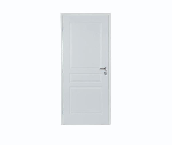 Bloc porte postformé 3 panneaux rec. isolant 2.1 204x83 DP néolys 74