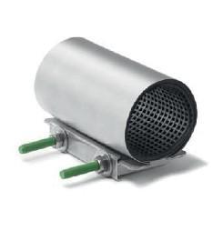 Manchon réparation inox simple bande 300mm Ø118-128mm réf :RC1
