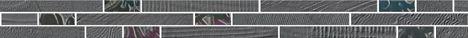 Listel LE MARAIS piombo 5cm x60,5cm