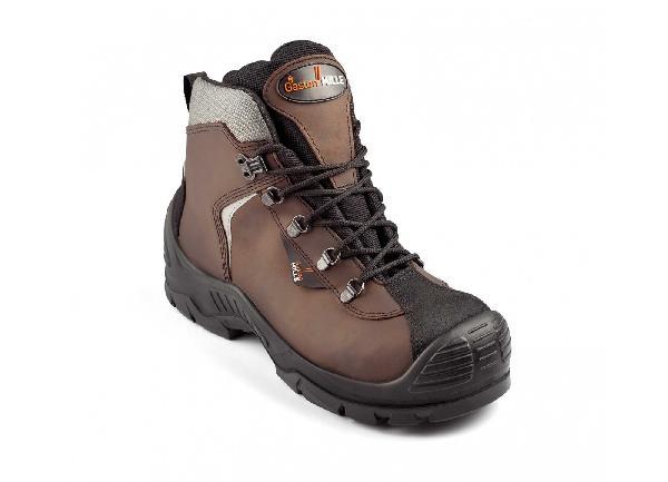 Chaussures de sécurité hautes UNIPRO cuir marron S3 SRC AN HI CI T.46