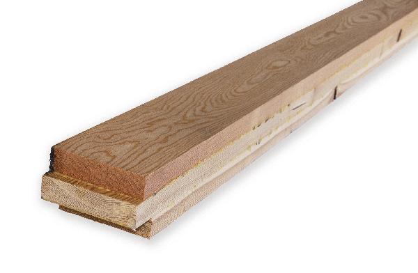 Carrelet 3 plis mélèze DKD sur quartier 63x95mm 1,60m