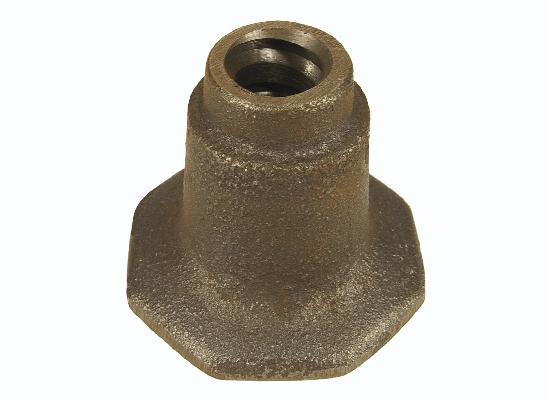 Pied d'ancrage pour tige Ø15-17mm