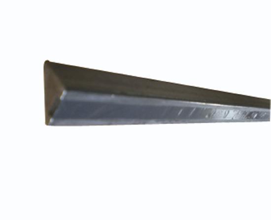 Liteau triangulaire acier aimanté inversé Ht15x15x21mm 1m