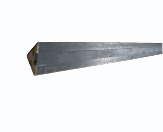 Liteau triangulaire acier aimanté standard Ht15x15x21mm 1m