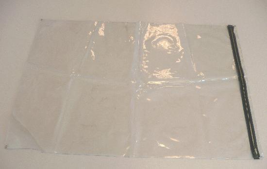 Pochette de plan avec oeillets transparente 630x500mm