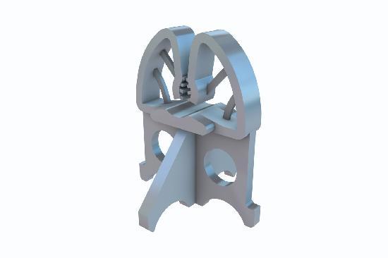 Cale armature horizontale TIPFIX pour fer Ø4-14 enrobage:30mm sac 1000