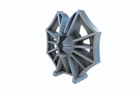 Cale armature KLEMFIX pour acier mixte Ø6-12 enrobage:35mm paquet 500