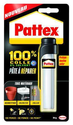 Pâte à réparer PATTEX 100% 64g