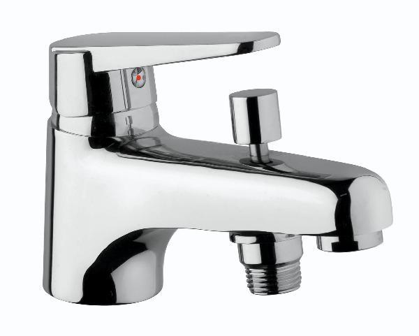 Mitigeur bain/douche VENTUS monotrou inverseur automatique chromé NF