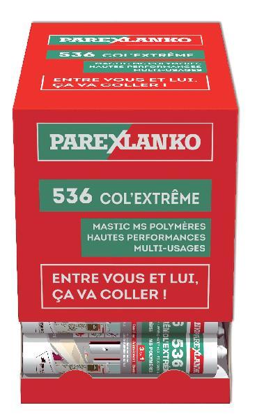 Mastic LANKOCOL COL EXTREME 536 MS Polymère transparent box 36 290ml