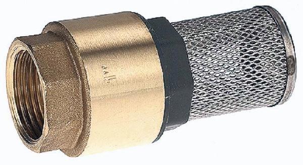 Clapet crépine anti retour laiton femelle 20/27 à tamis 12/10°
