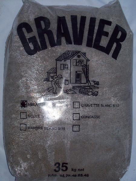 Sable 0/2 blanc pour joint de carrelage sac 35kg