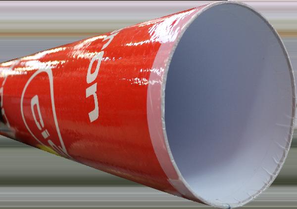 Tube coffrage carton rond lisse Ø800mm 3m