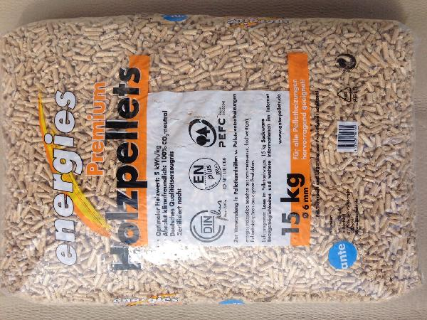 Granules bois NORME EN+ sac 15kg