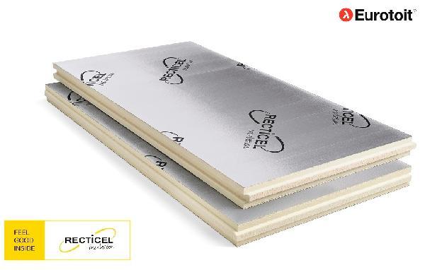 Polyuréthane EUROTOIT rainuré bouveté 132mm 240x120cm par 3 R=6