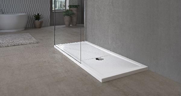 Receveur OLYMPIC PLUS blanc 120 x80cm H.4,5cm