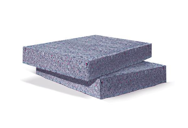 Panneau textile recyclé METISSE 100mm 120x60cm paquet 6 R=2,55