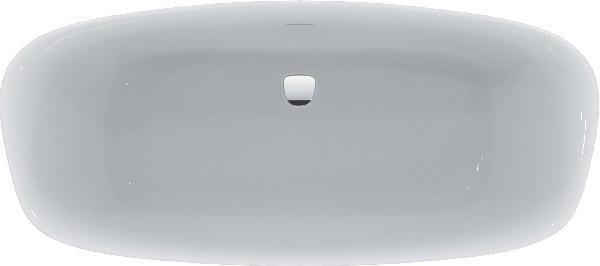 Baignoire acrylique DEA blanche 269l 180x80cm