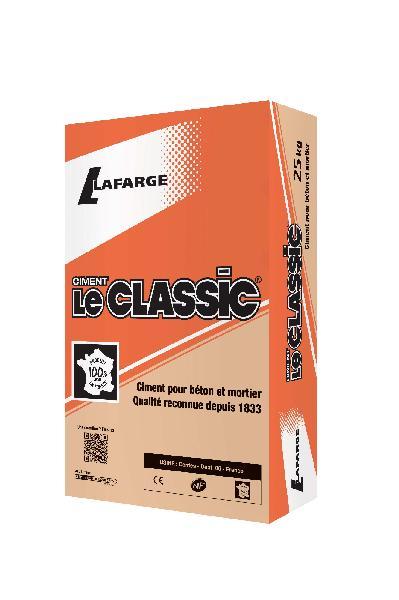 Ciment LE CLASSIC gris CEM II/B-LL 32,5 R CE+NF sac 25kg