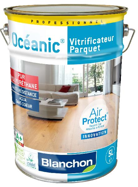 Vitrificateur parquet OCEANIC satiné brillant 5L