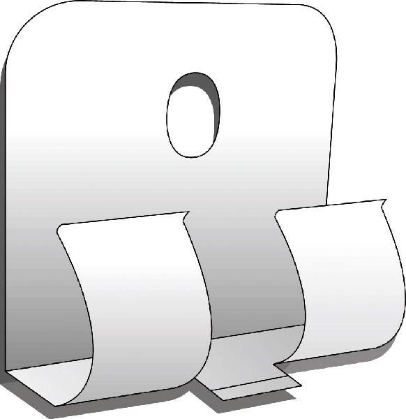 CLIPSTAR POUR FIXATION INVISIBLE DE PLINTHE BOITE DE 50