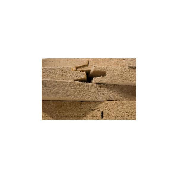 Panneau fibre de bois FIBERWOOD DUOPROTECT 35mm 247.5x57,5cm R=0,75