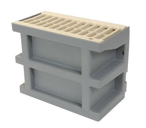 Courette anglaise pour cour anglaise COUR7S H.20cm + grille PVC sable