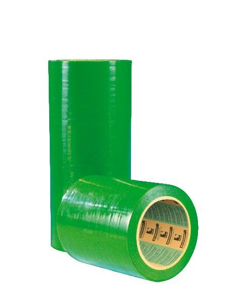 Film de protection adhésif vert 300x33m