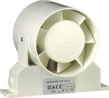 VENTILATEUR GAINE SERIE ETS 120MM+SUPP