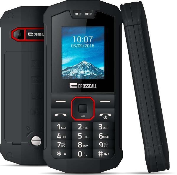 Téléphone PRO SPIDER X1 + housse noir pack