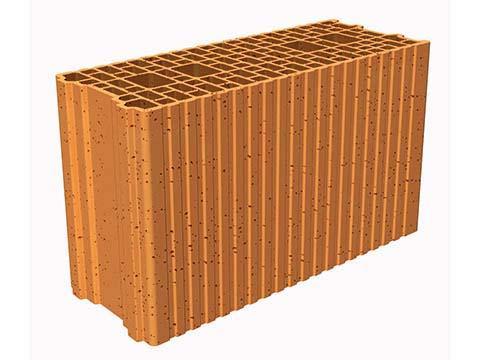 Brique de mur POROTHERM GF R20 20x29,9x50cm R=1,01